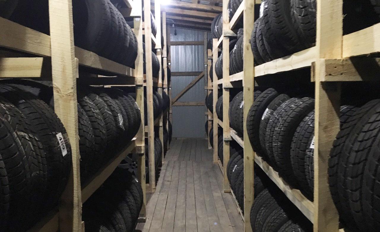 Сезонное хранение шин — нормы и правила